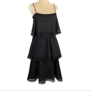 Incredible 3 tier vintage 70's dress